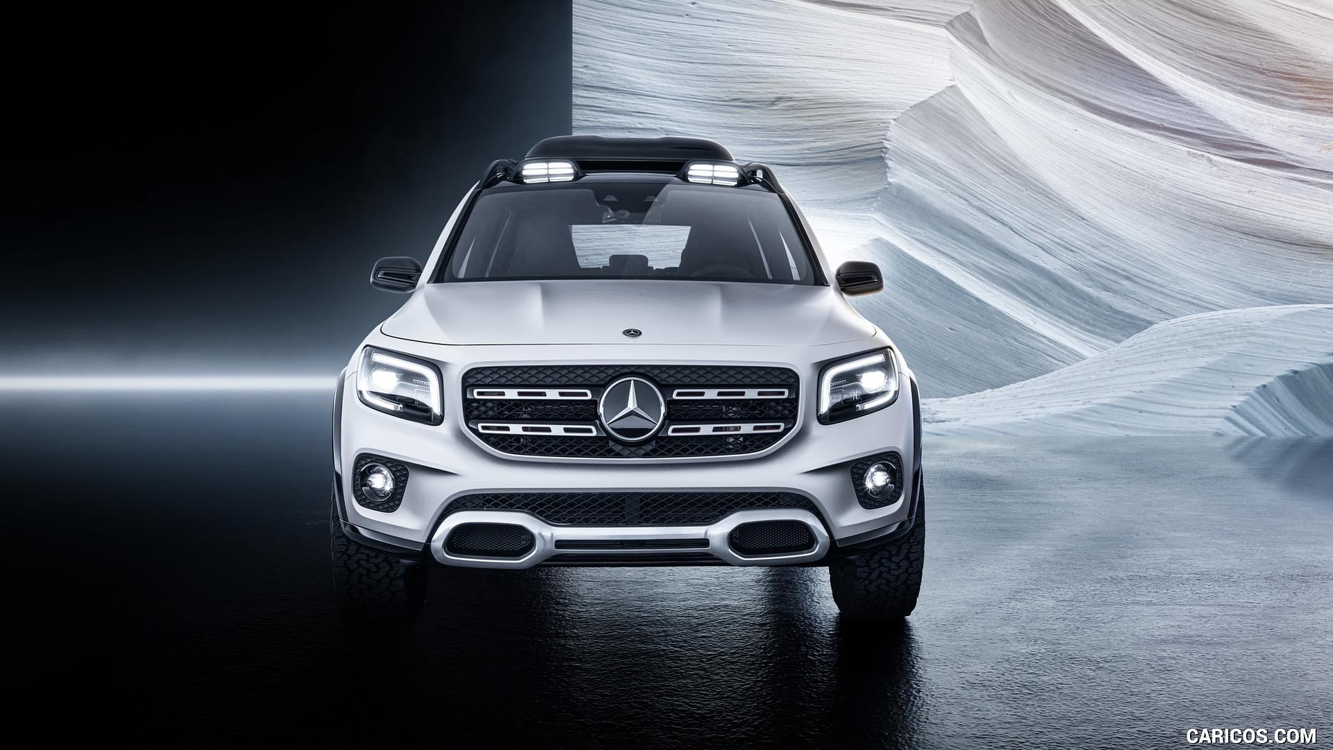 2019 Mercedes Benz GLB Concept   Front HD Wallpaper 5 1920x1080
