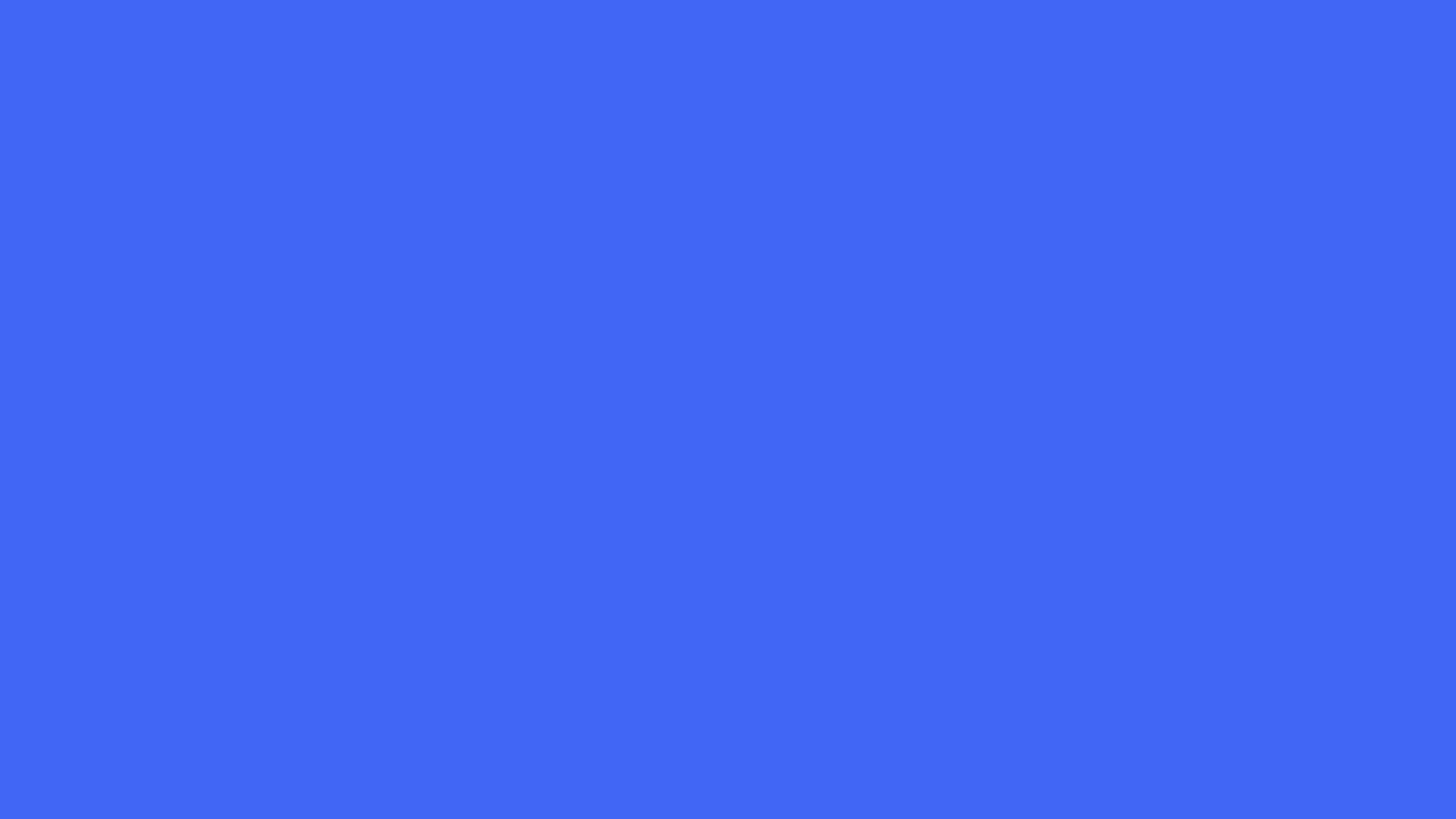 2560x1440 Ultramarine Blue Solid Color Background 2560x1440