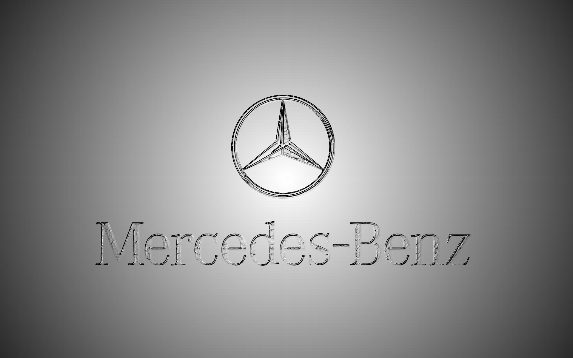 Mercedes Benz Logo HD Wallpaper 1920x1200