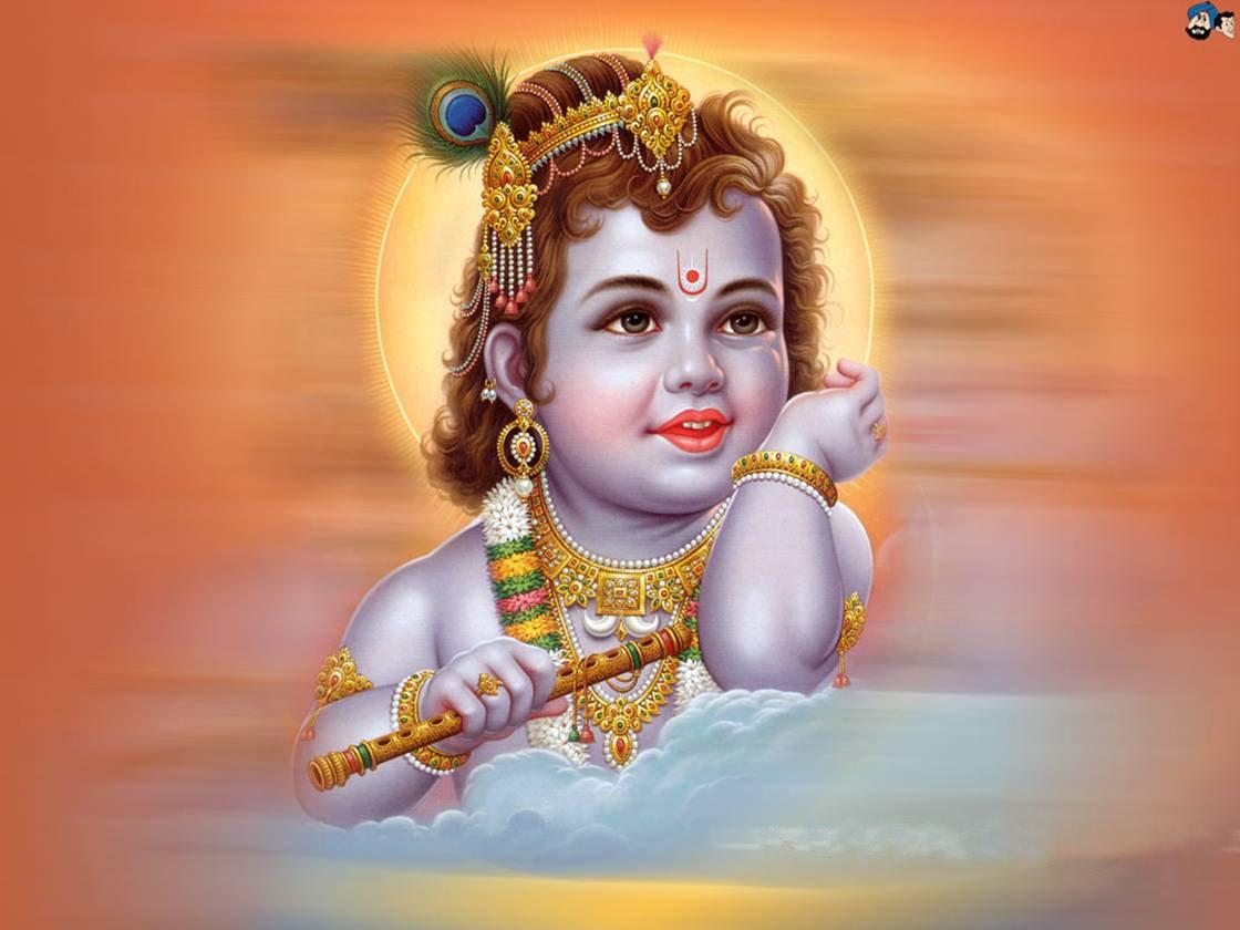 26 Sree Krishna Baby Beautiful 3d Wallpaper On Wallpapersafari