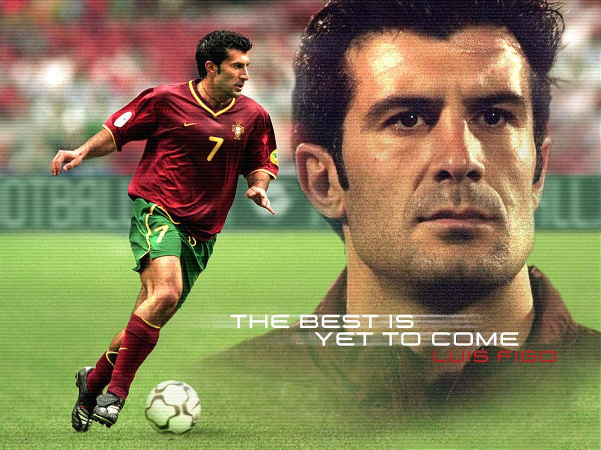 Luis Figo Football Wallpaper 1200x900