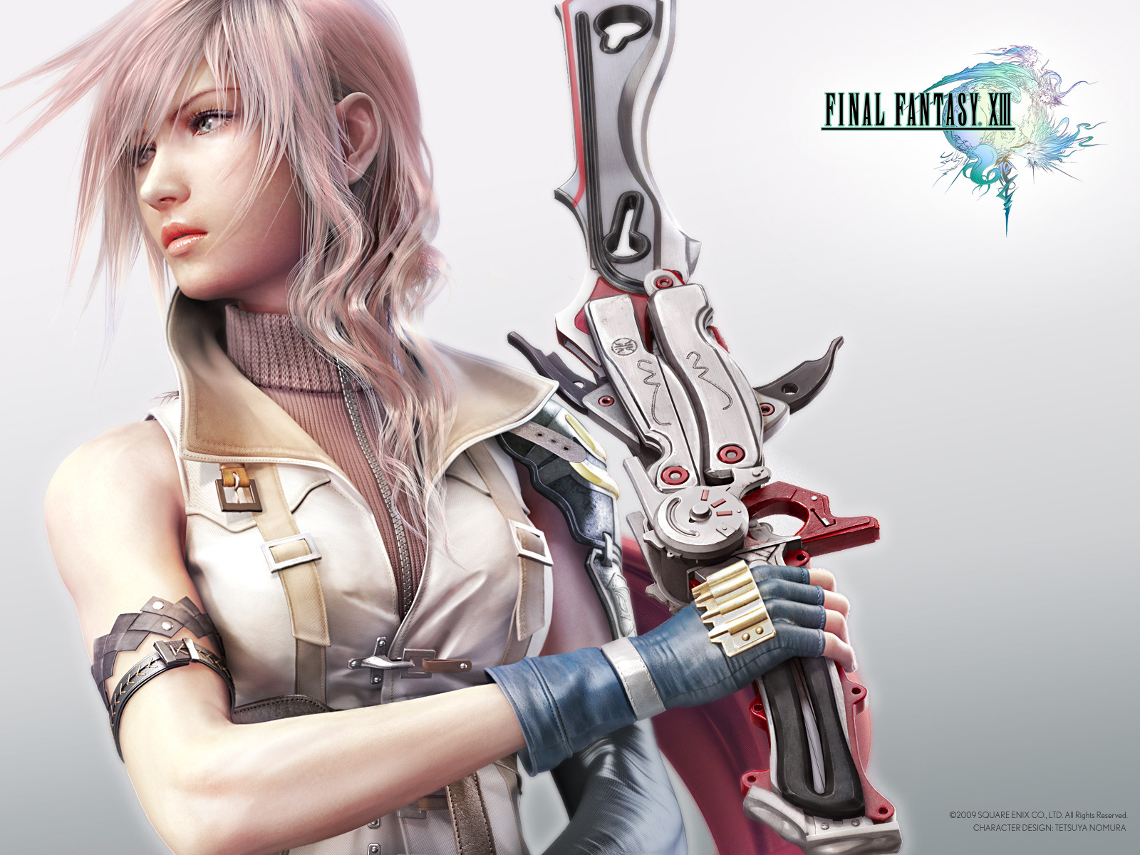 Final Fantasy Lightning   Final Fantasy XIII 1600x1200