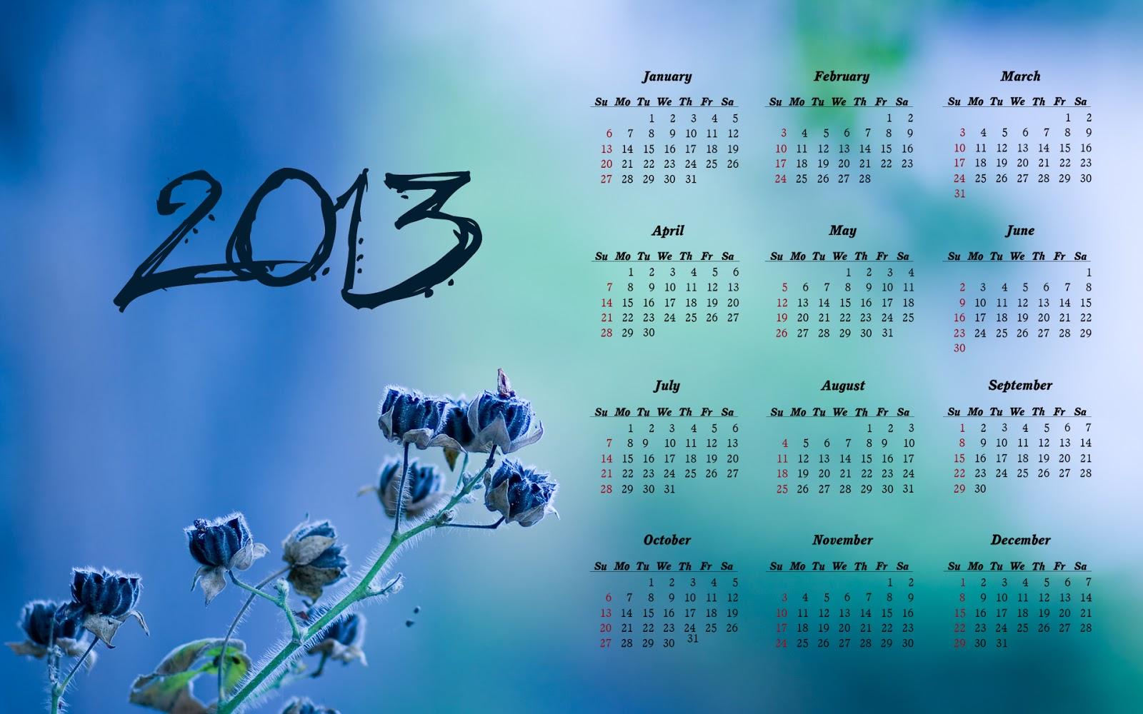 New Year Calendar 2013 Calendar 2013 2013 Calendar Desktop 1600x1000