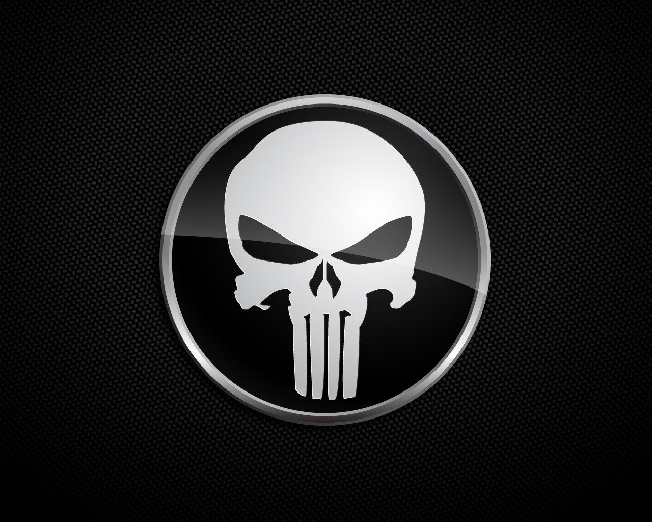 The Punisher Skull Logo HD Wallpapers Desktop Wallpapers 1280x1024