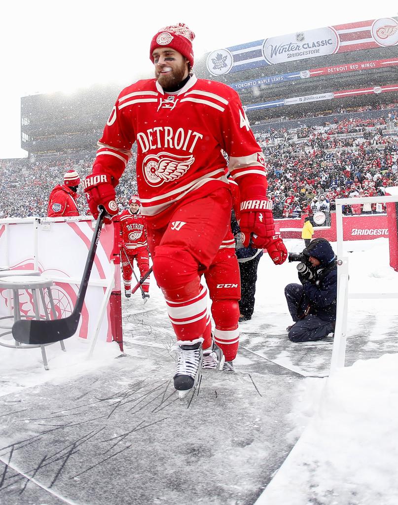 Henrik Zetterberg in Toronto Maple Leafs v Detroit Red Wings   Zimbio 807x1024