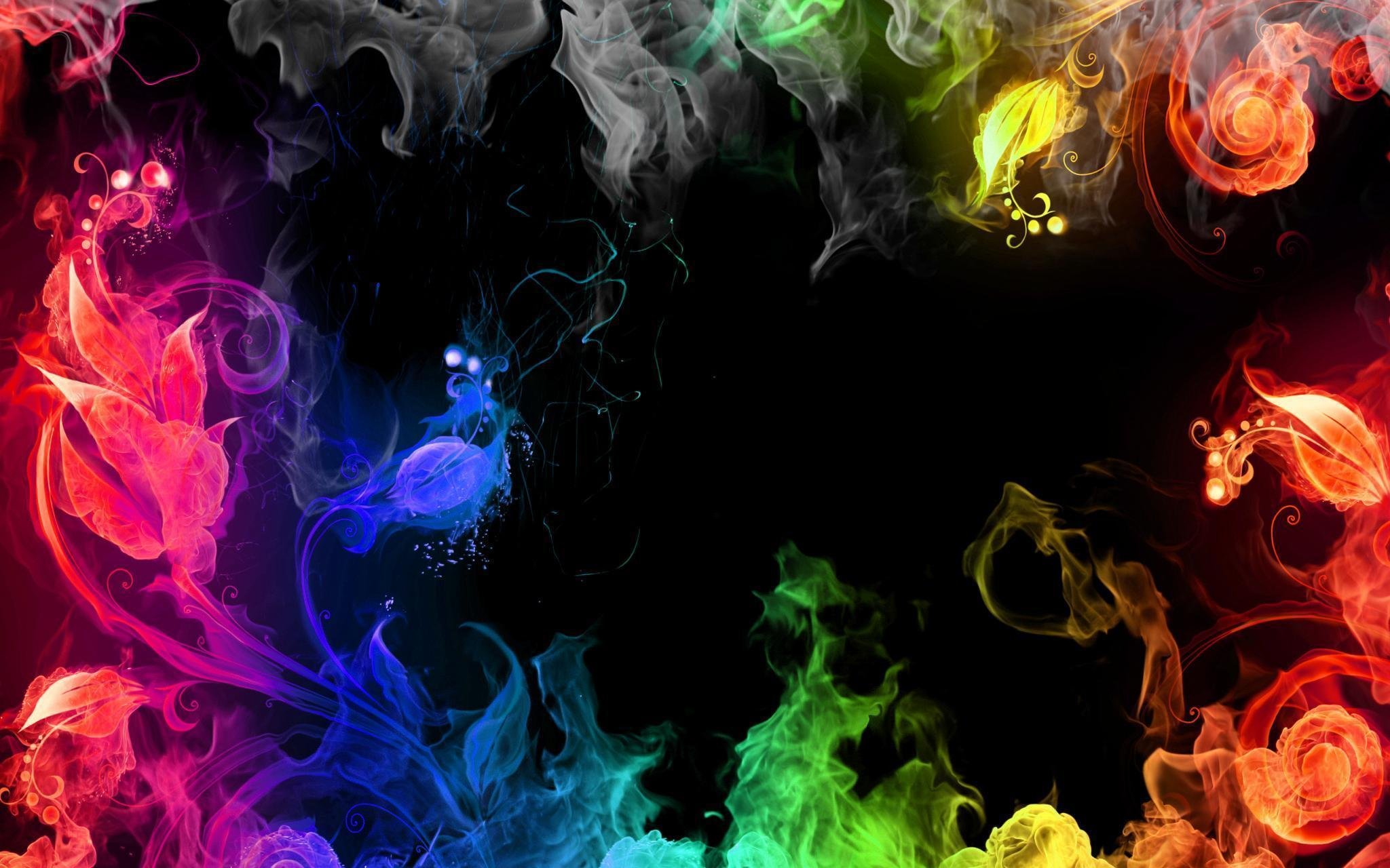 Colored Smoke Wallpapers 2048x1280