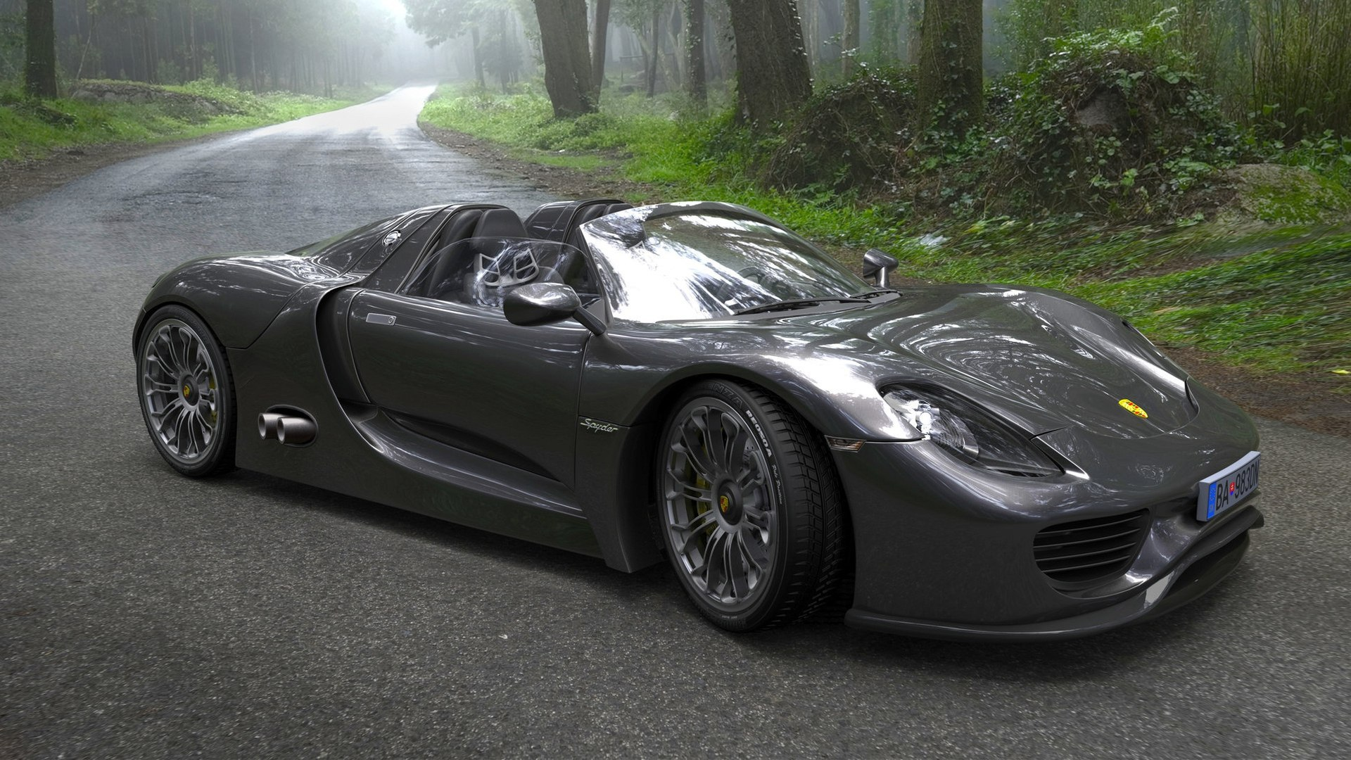 Free Download Awesome Porsche 918 Spyder Wallpaper Full Hd