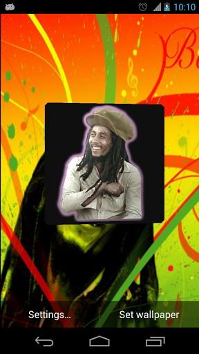 View bigger Bob Marley 3D Wallpaper for Android screenshot 288x512