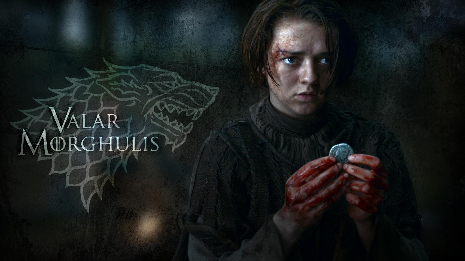 Game Of Thrones Season 4 Valar Morghulis Arya wwwimgkid 1920x1080