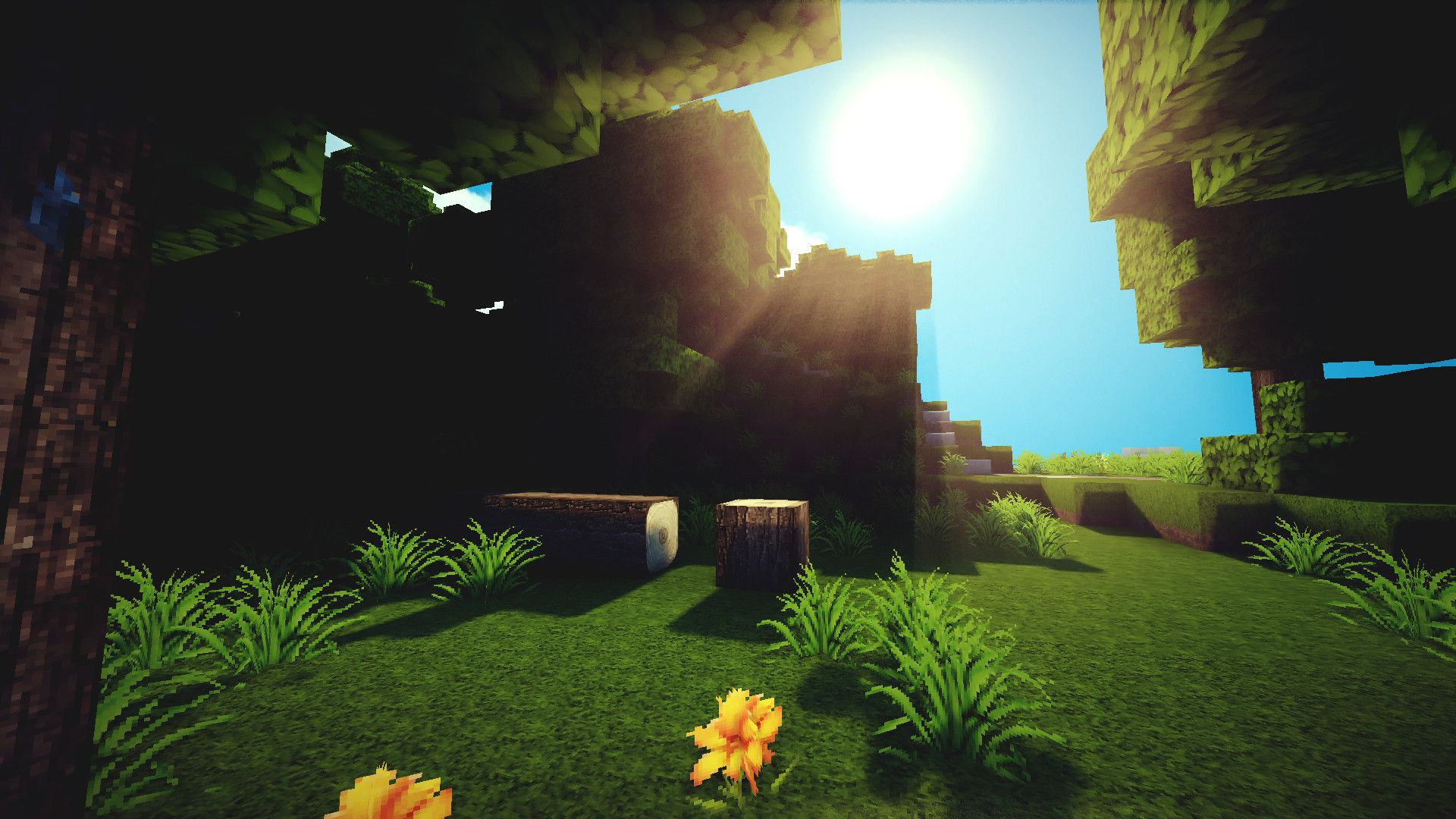 Minecraft Backgrounds For Your Computer 1920x1080