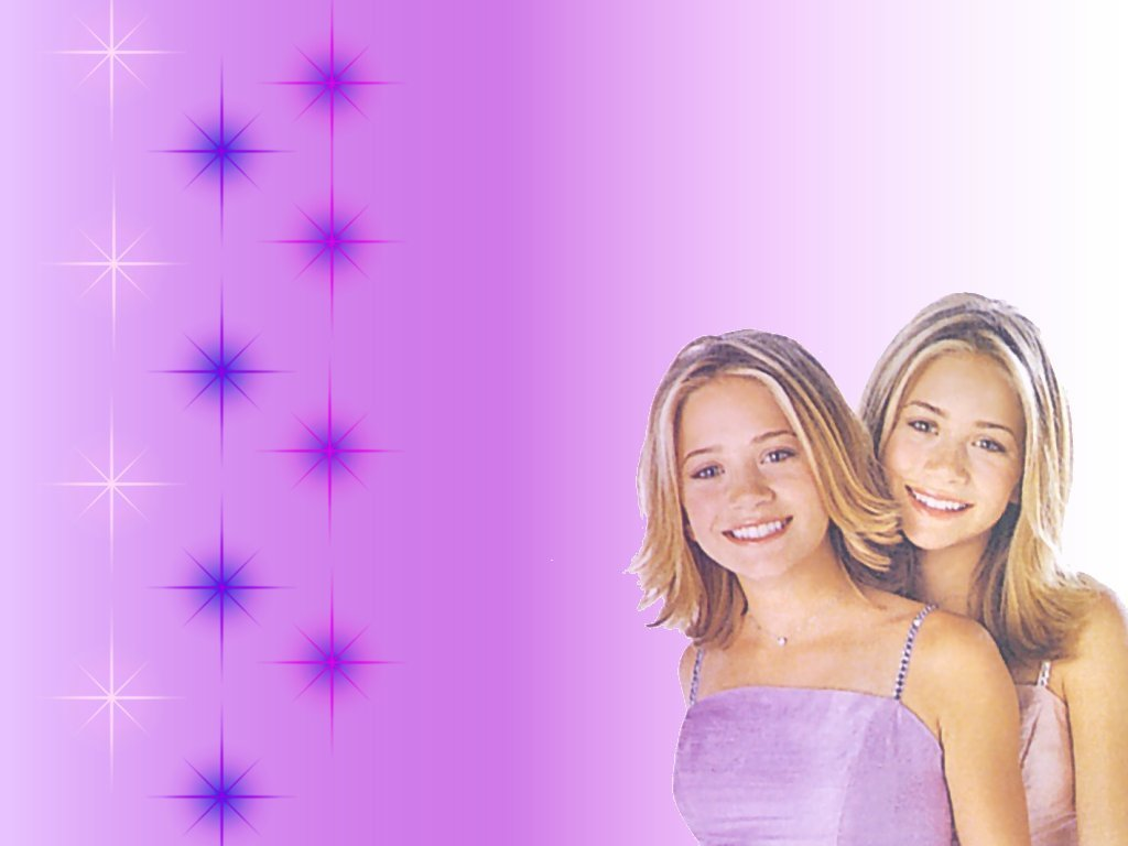 Olsen Twins   Stars childhood pictures Wallpaper 3287701 1024x768