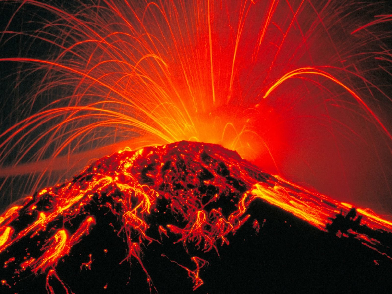 174 Volcano HD Wallpapers Background Images 1600x1200