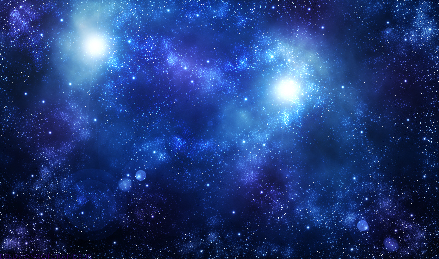 Blue Galaxy Wallpaper Wallpapersafari