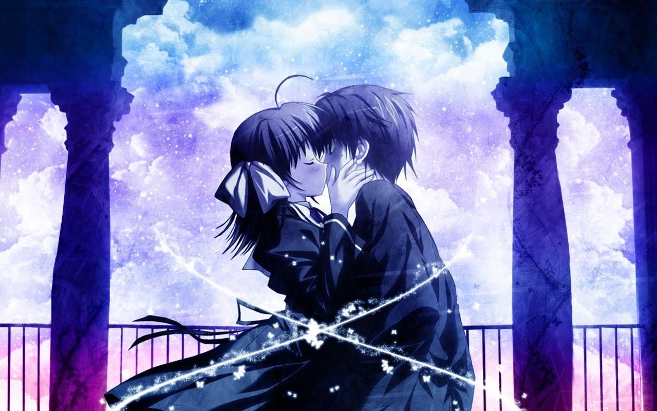 Image Result For Live Wallpaper Anime Kiss