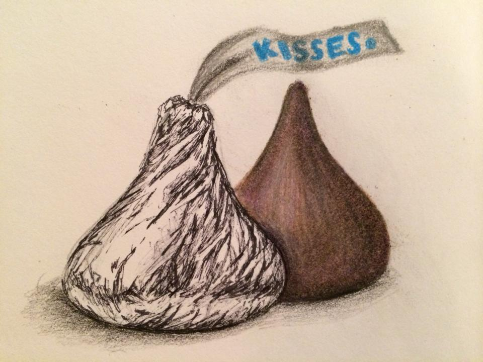 Hershey Kisses Wallpaper Hersheys kiss by enotsgnik 960x720