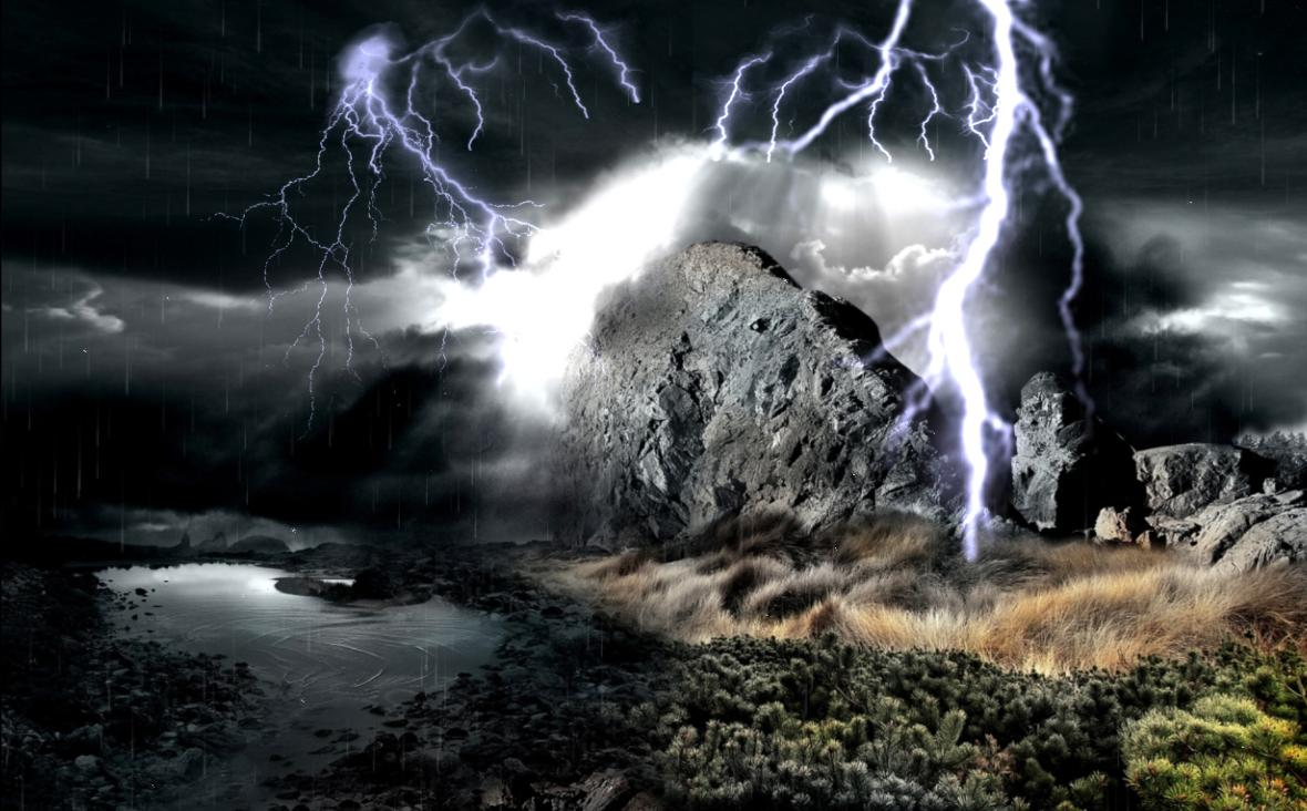 preview of amazing thunderstorm screensaver MEMEs 1180x732