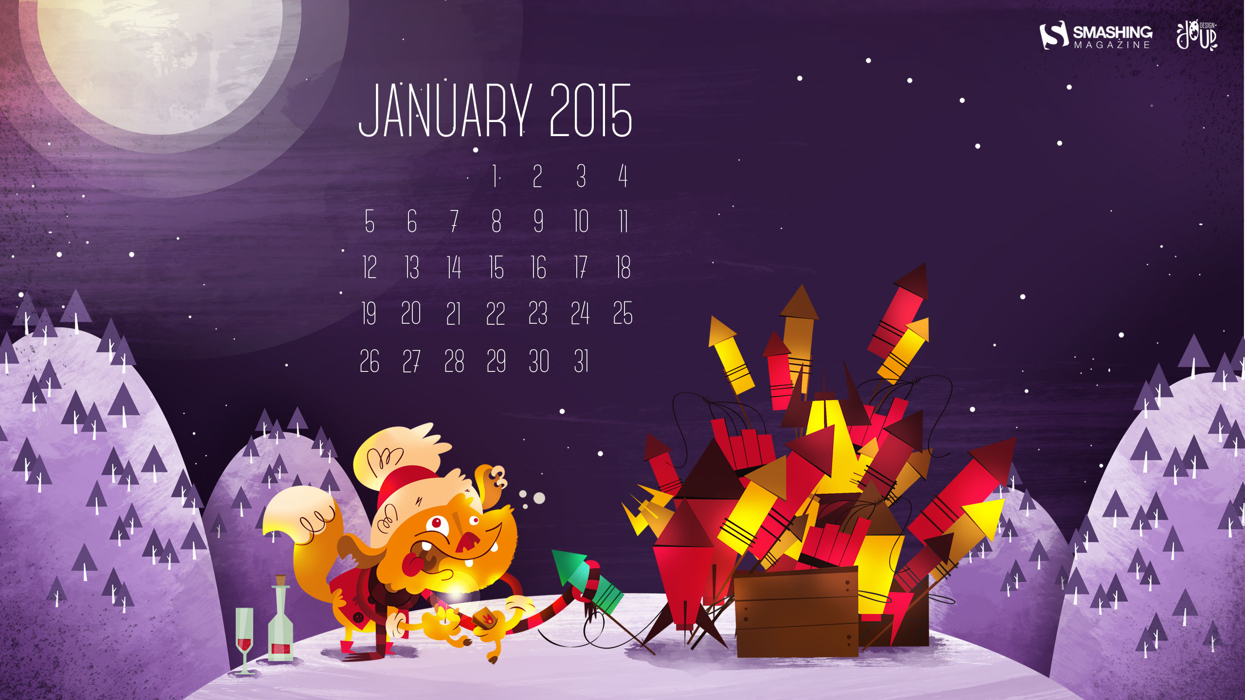 Desktop Wallpaper Calendars January 2015 Smashing Magazine 2560x1440