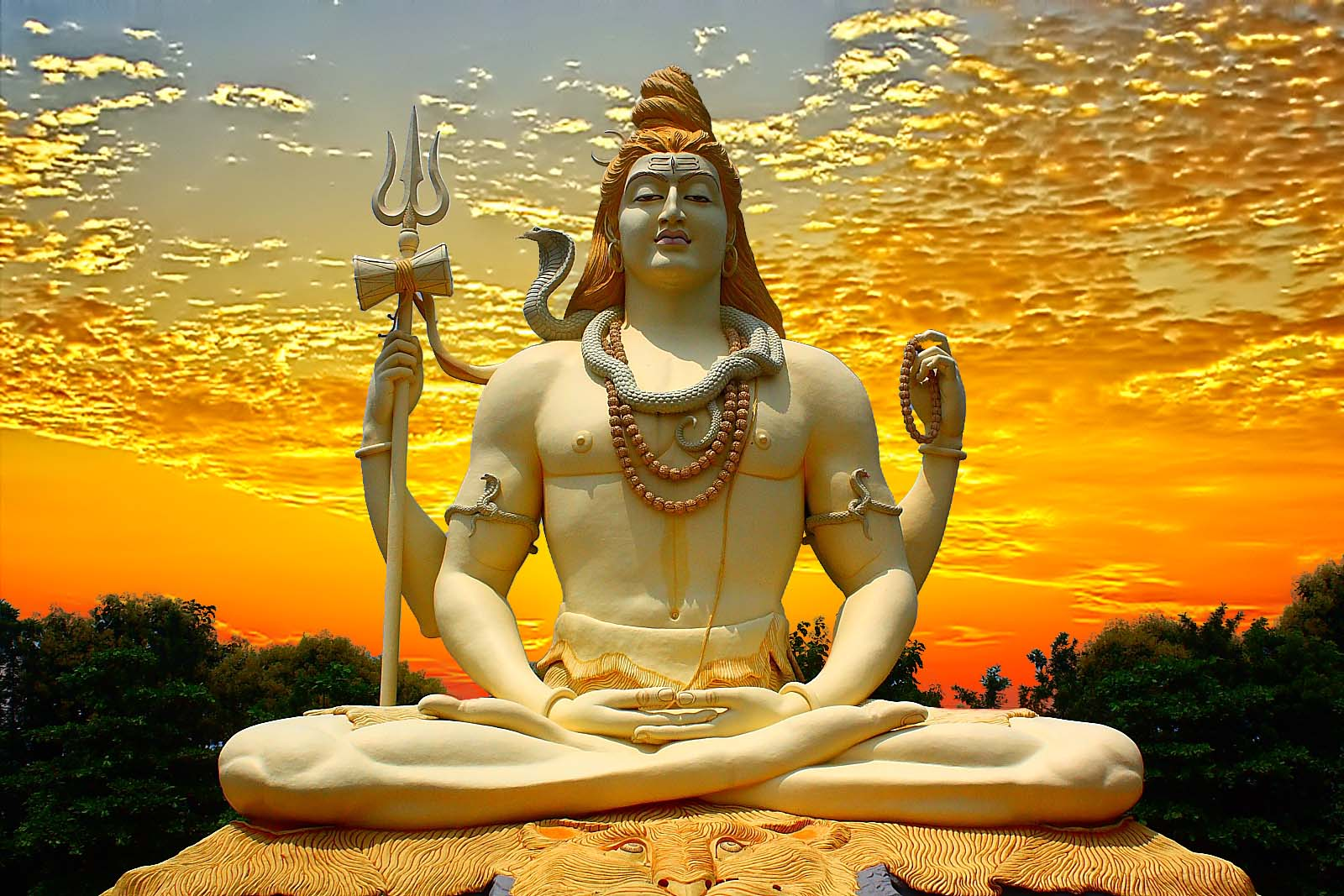 Lord Shiva Sunsetsky HD Wallpapers   Full HD Wallpaper for Desktop 1600x1067