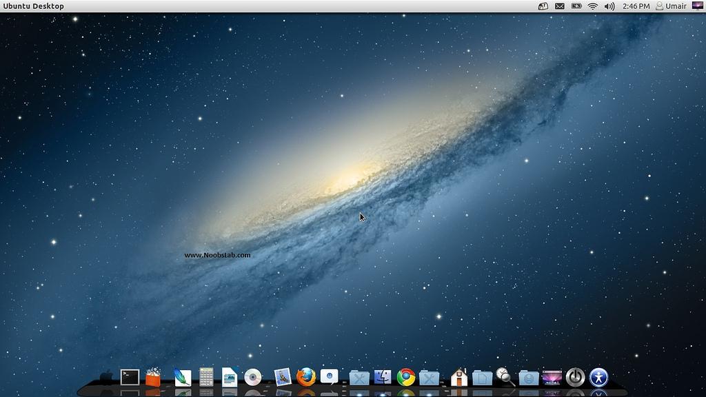 V2] Mac OS X theme Ver2 for Ubuntu 1204 Precise   NoobsLab Ubuntu 1024x576