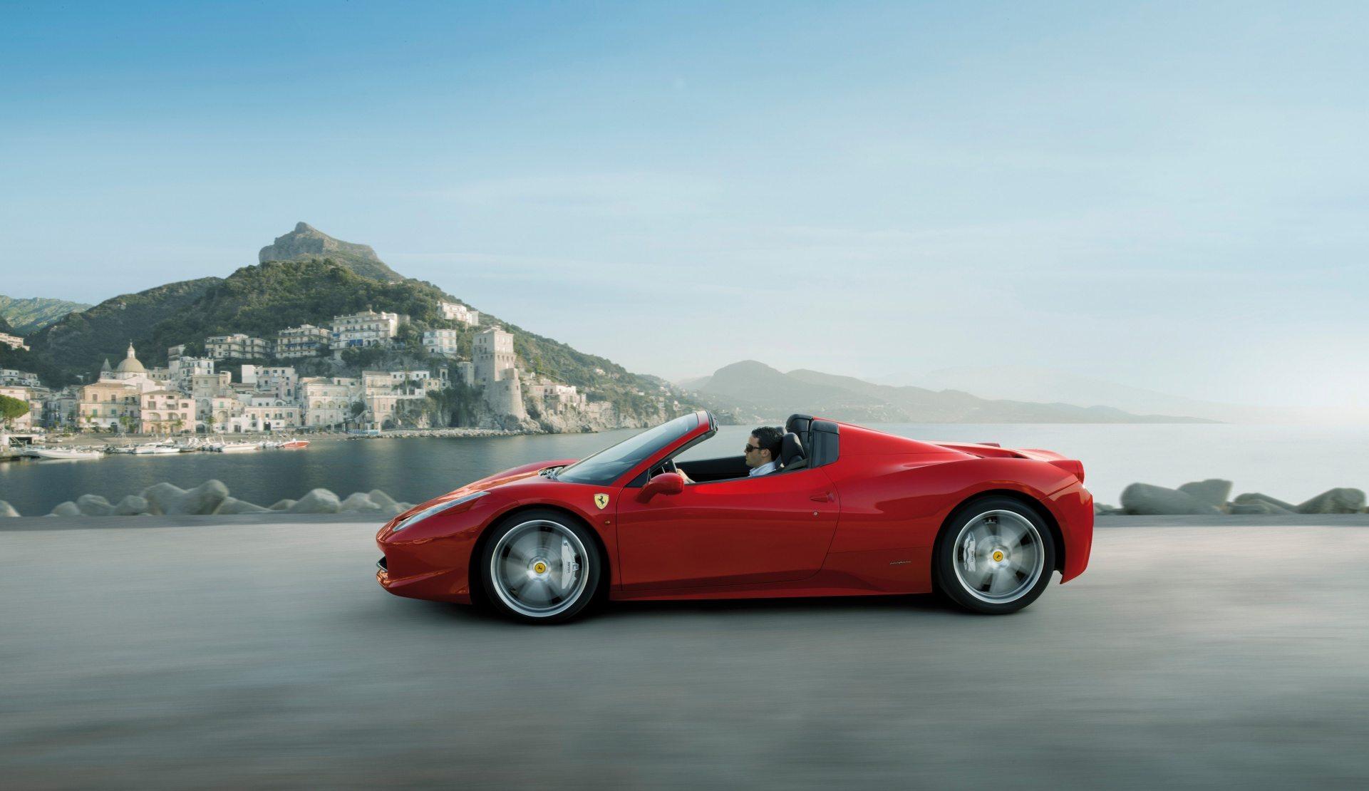 Ferrari 458 Italia Desktop Wallpaper   HD 1921x1110