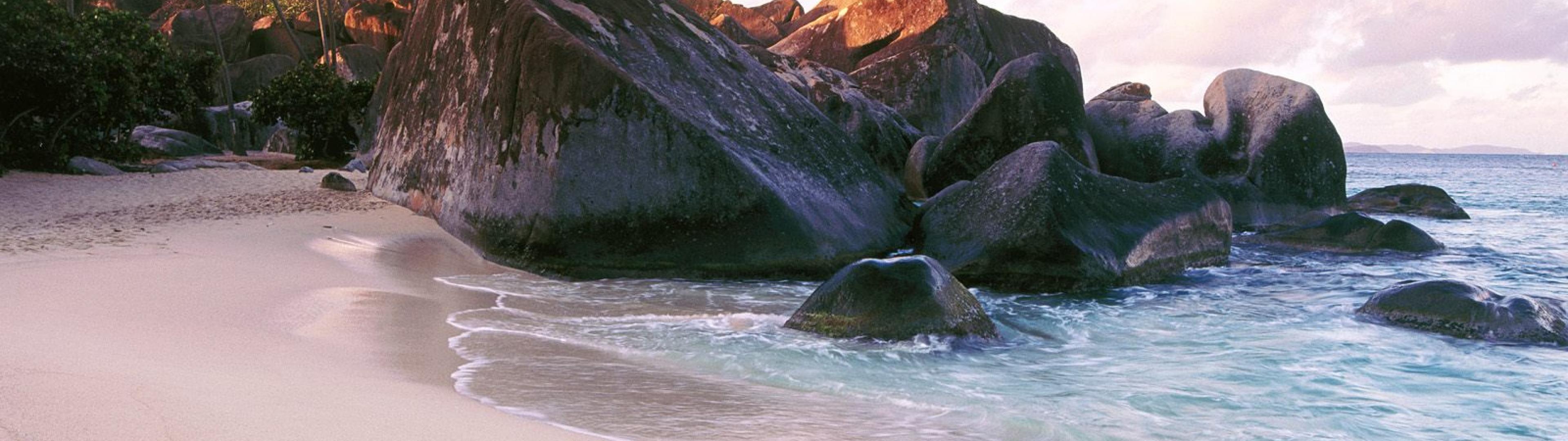 The Baths, Virgin Gorda Island, British Virgin Islands, West Indies  № 1471437 загрузить