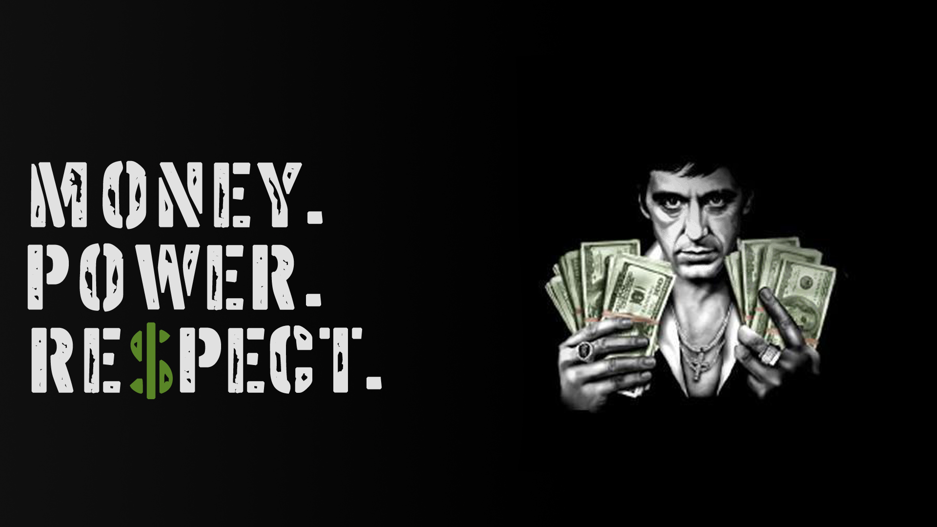 scarface quotes wallpaper by veeradesigns customization wallpaper 1920x1080