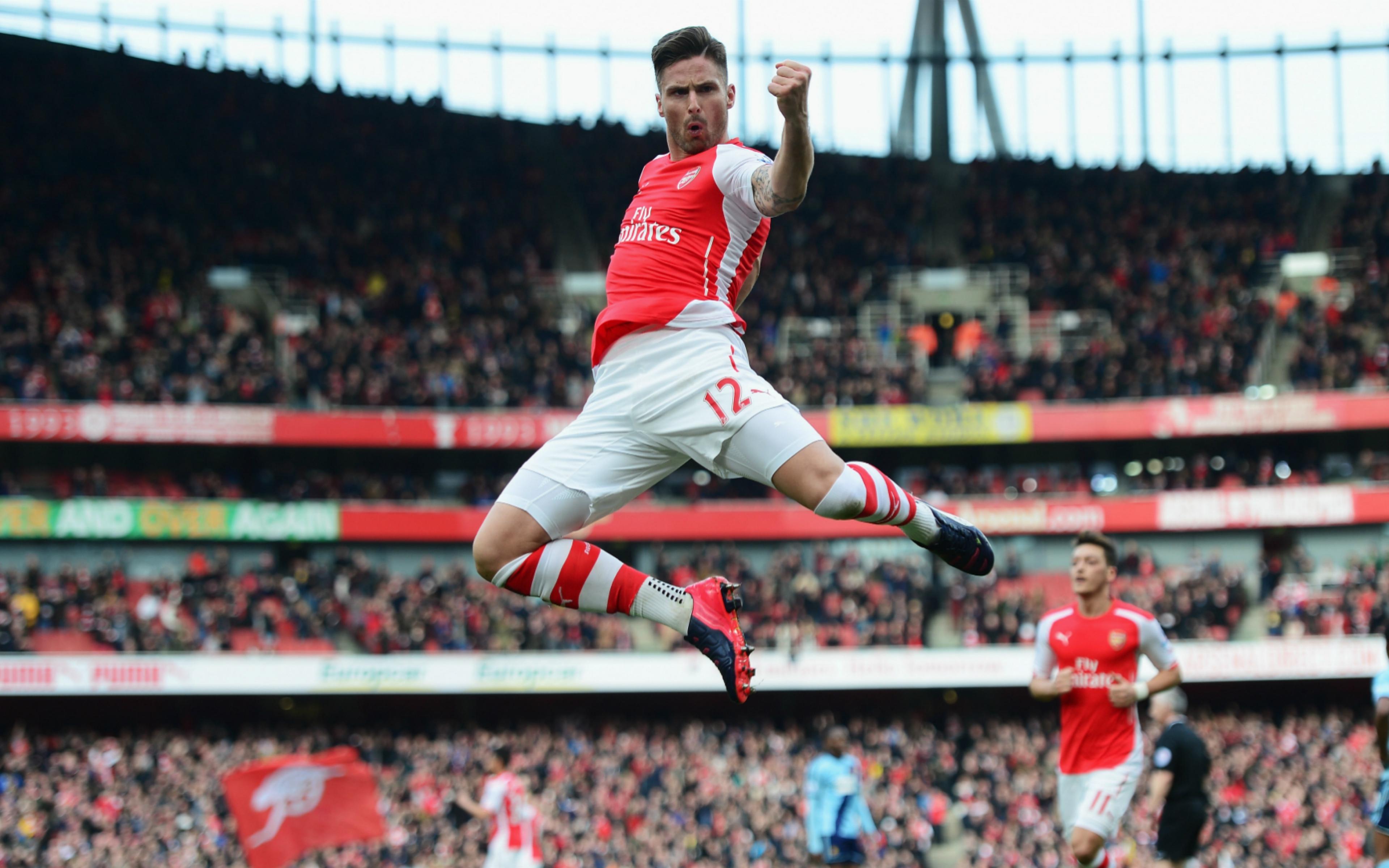 Download Wallpaper 3840x2400 Arsenal Football club Gunners Olivier 3840x2400
