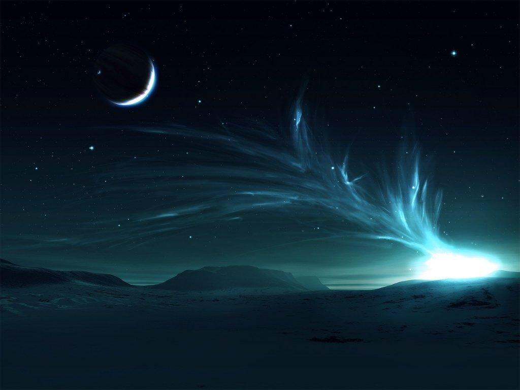 Desktop wallpapers Night sky wallpapers download 1024x768
