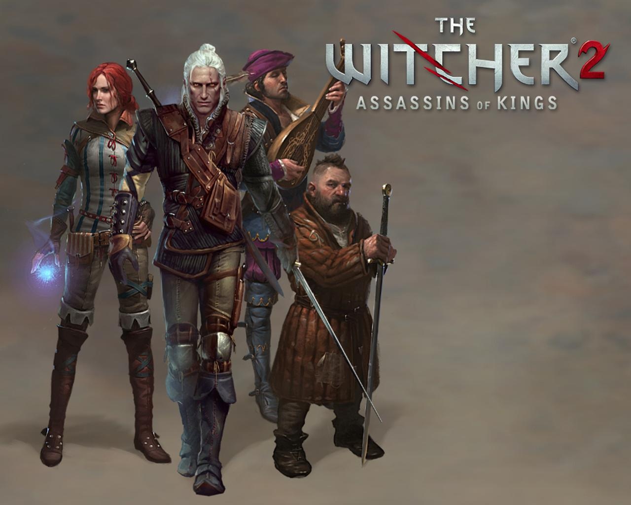 Images The Witcher The Witcher 2 Assassins of Kings Geralt of Rivia 1280x1024