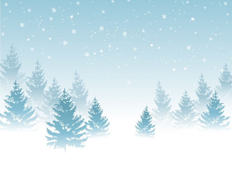 Winter Background Vector backgroun 800x628