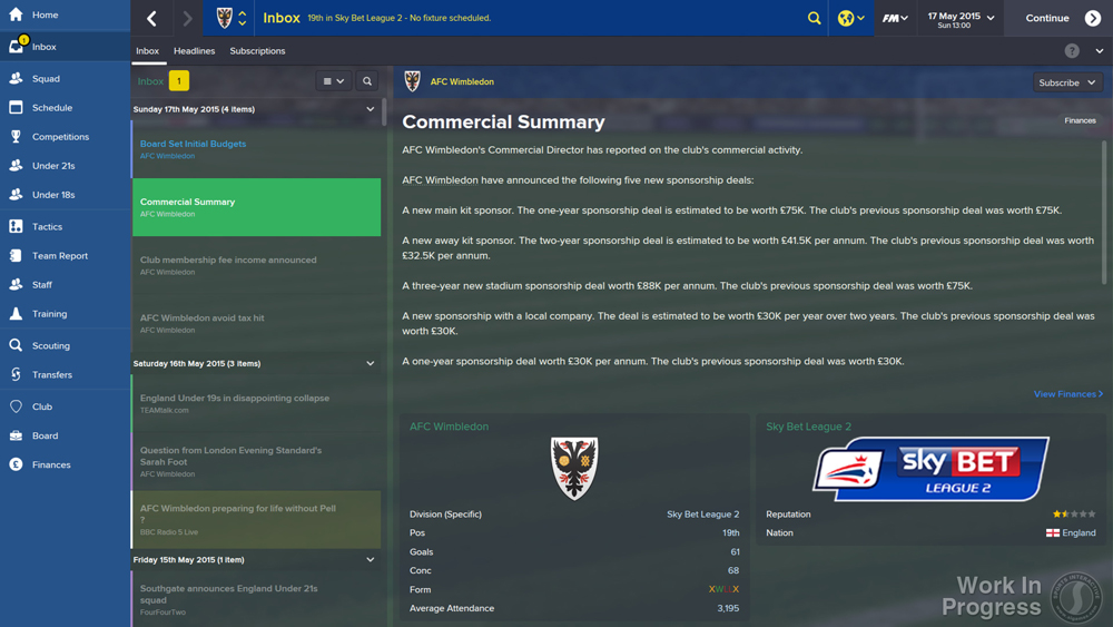 Football Manager 2015 review | PCGamesArchive.com