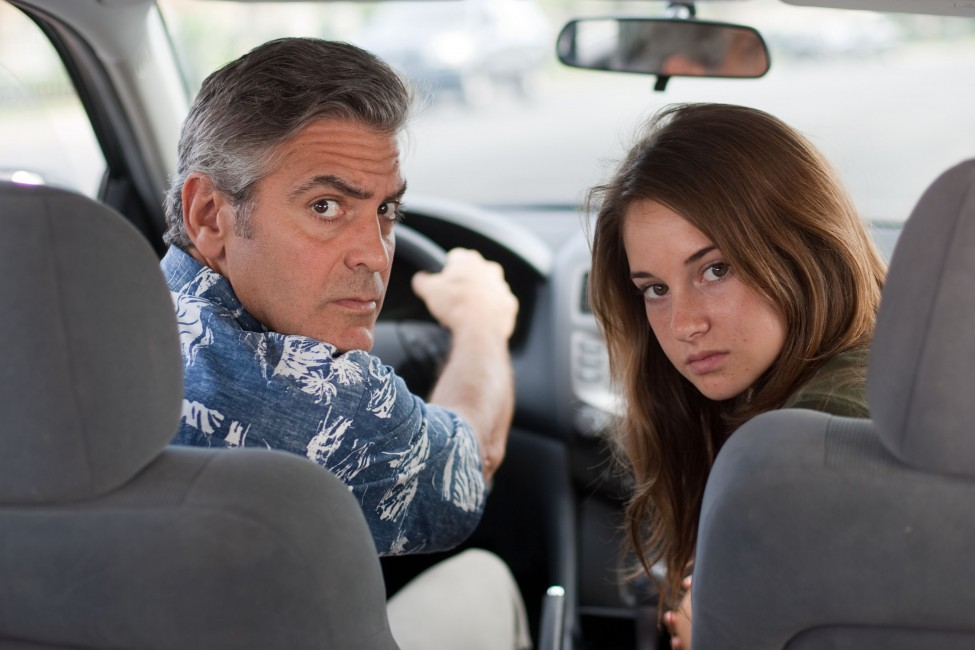 The Descendants George Clooney Shayleen Woodley Amara Miller 975x650