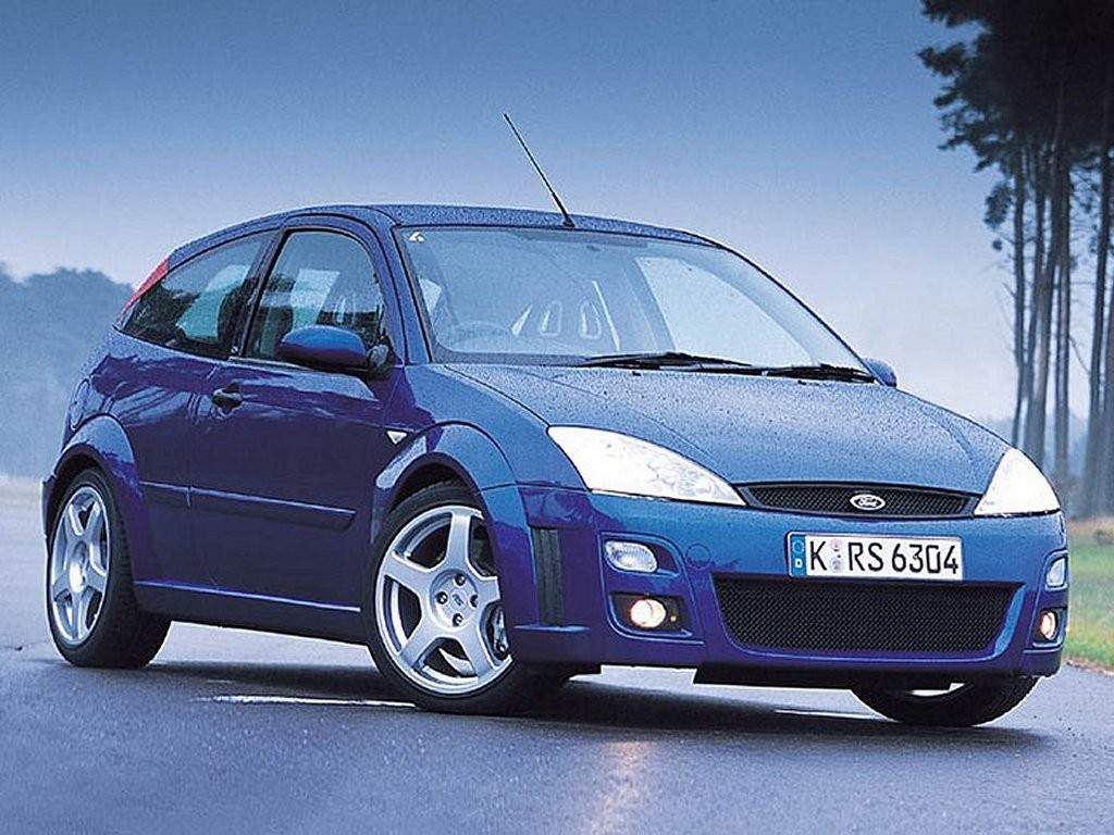 2003 Ford Focus RS Wallpaper 1024x768