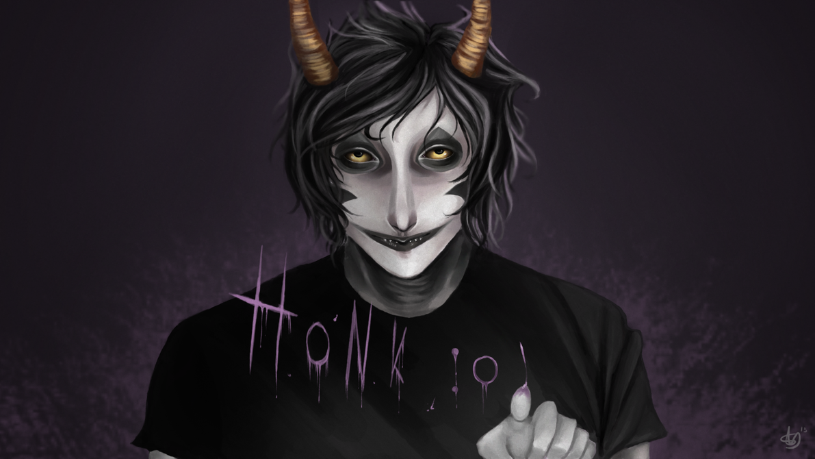 Homestuck - Gamzee Makara by QuyenT on DeviantArt