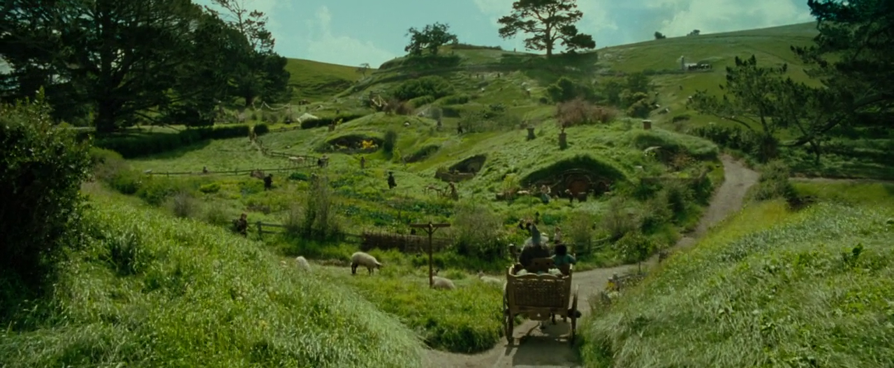 The Shire The Hobbit Wallpaper Hobbits   lord of the rings 1280x528