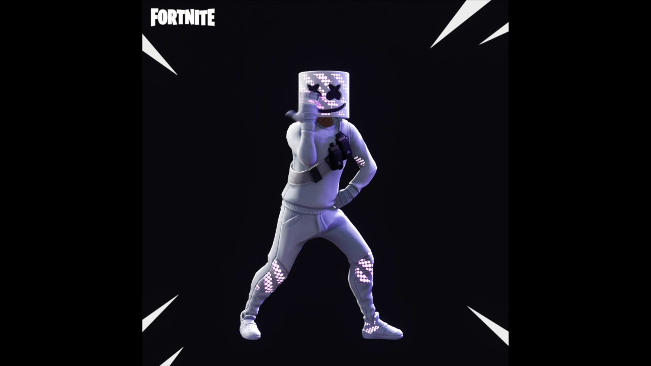 Marshmello Gets His Own Crazy Fortnite Skin and Emote 1280x720