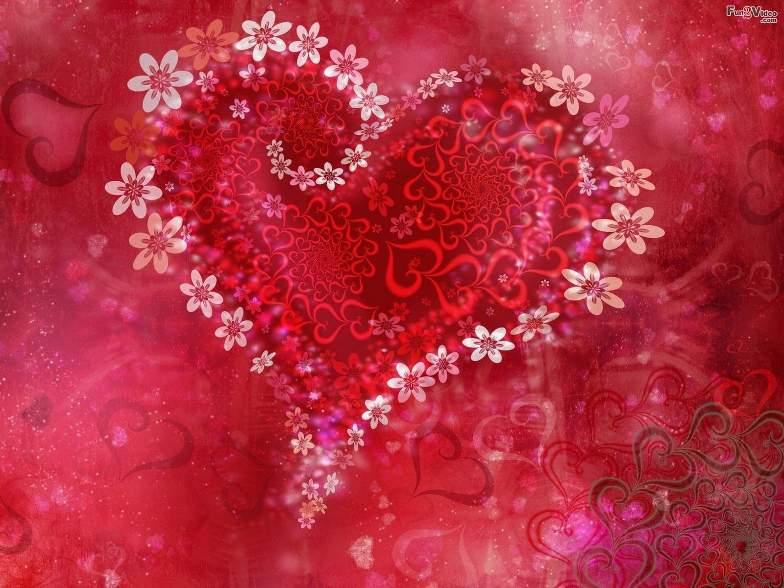 valentine love theme wallpaper background 1600x1200