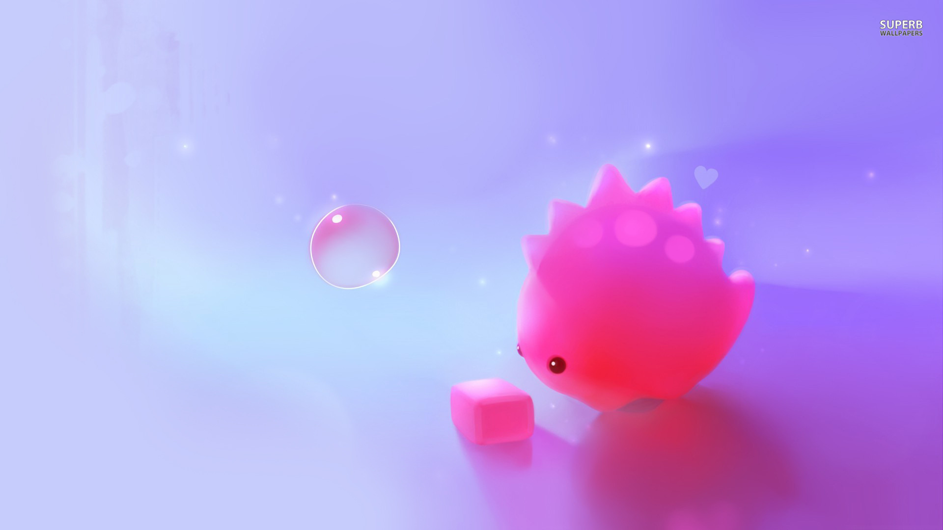 Cute Pink Dino Wallpaper   MixHD wallpapers 1920x1080