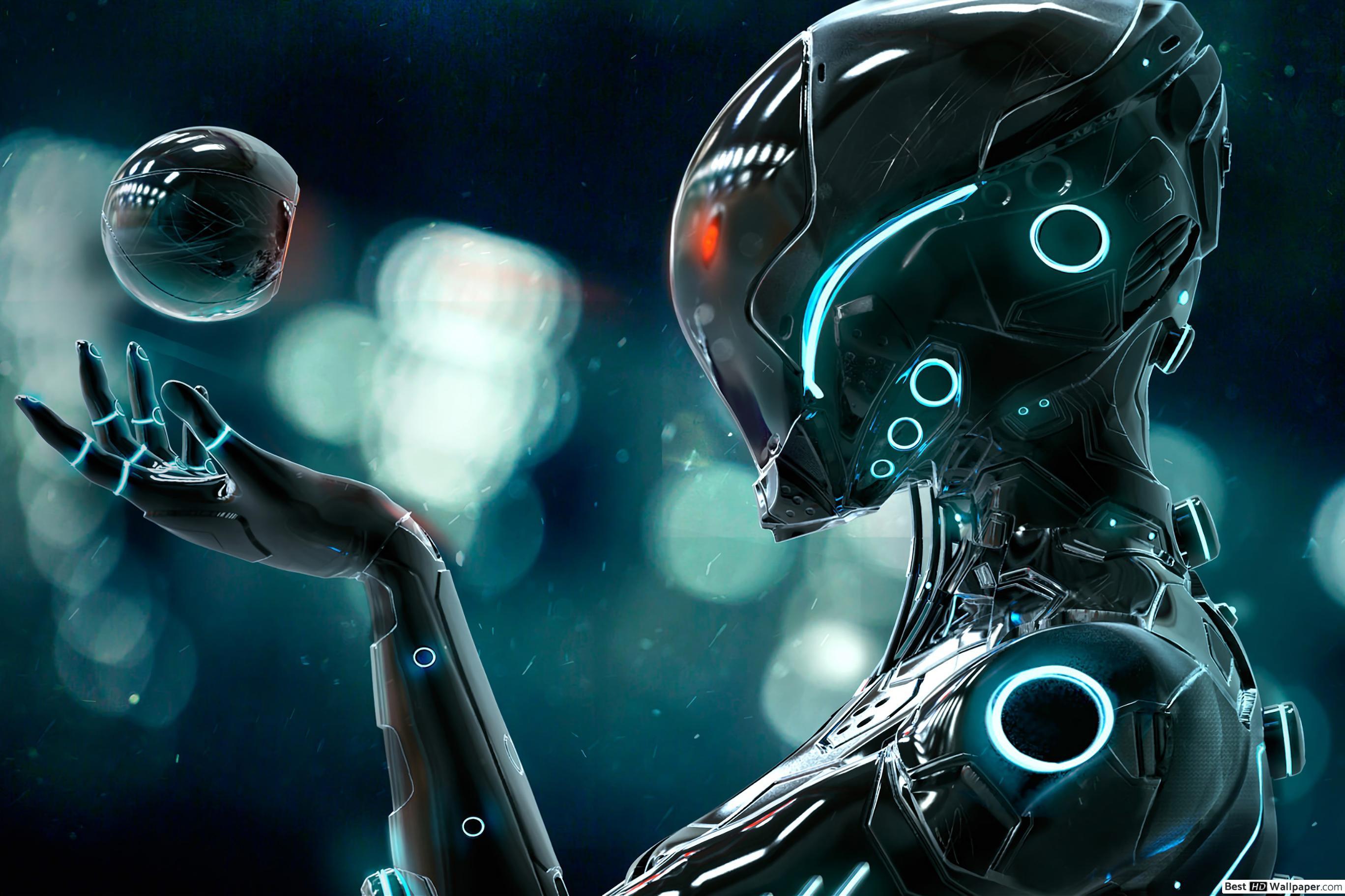 Future Robot Wallpapers   Top Future Robot Backgrounds 2736x1824