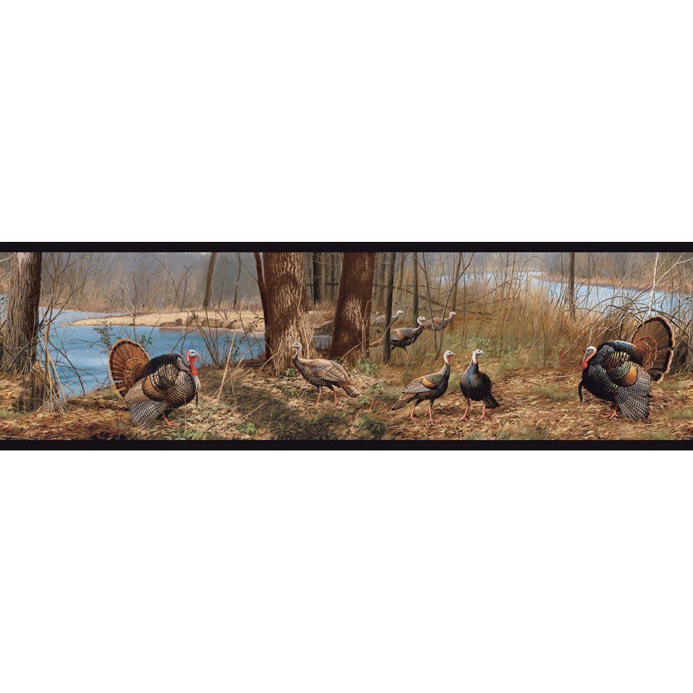 Borders York Wallcoverings Wallpaper Borders 6 in Turkey Wallpaper 1000x1000