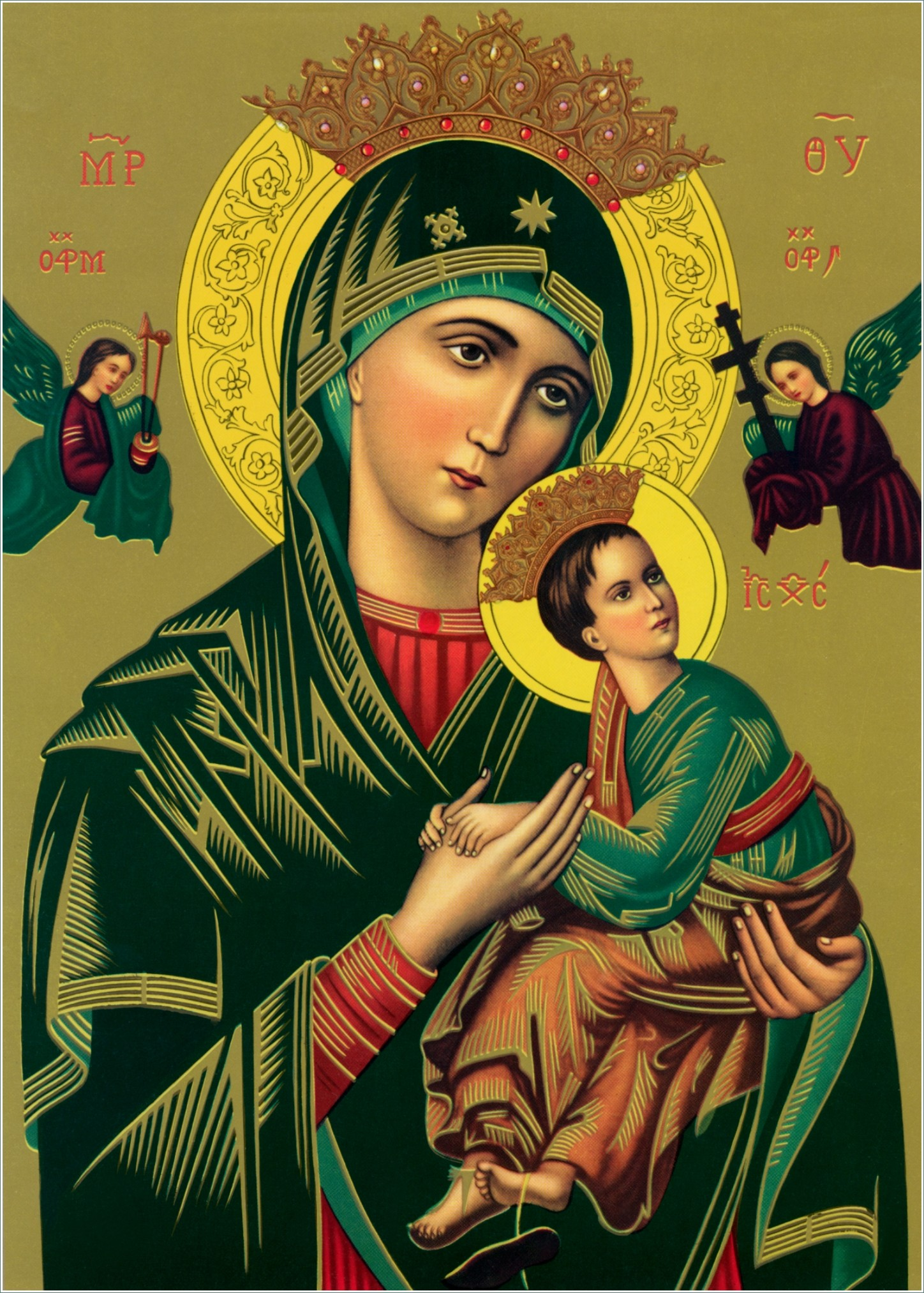 Mary Mother of God Wallpaper 1448x2026