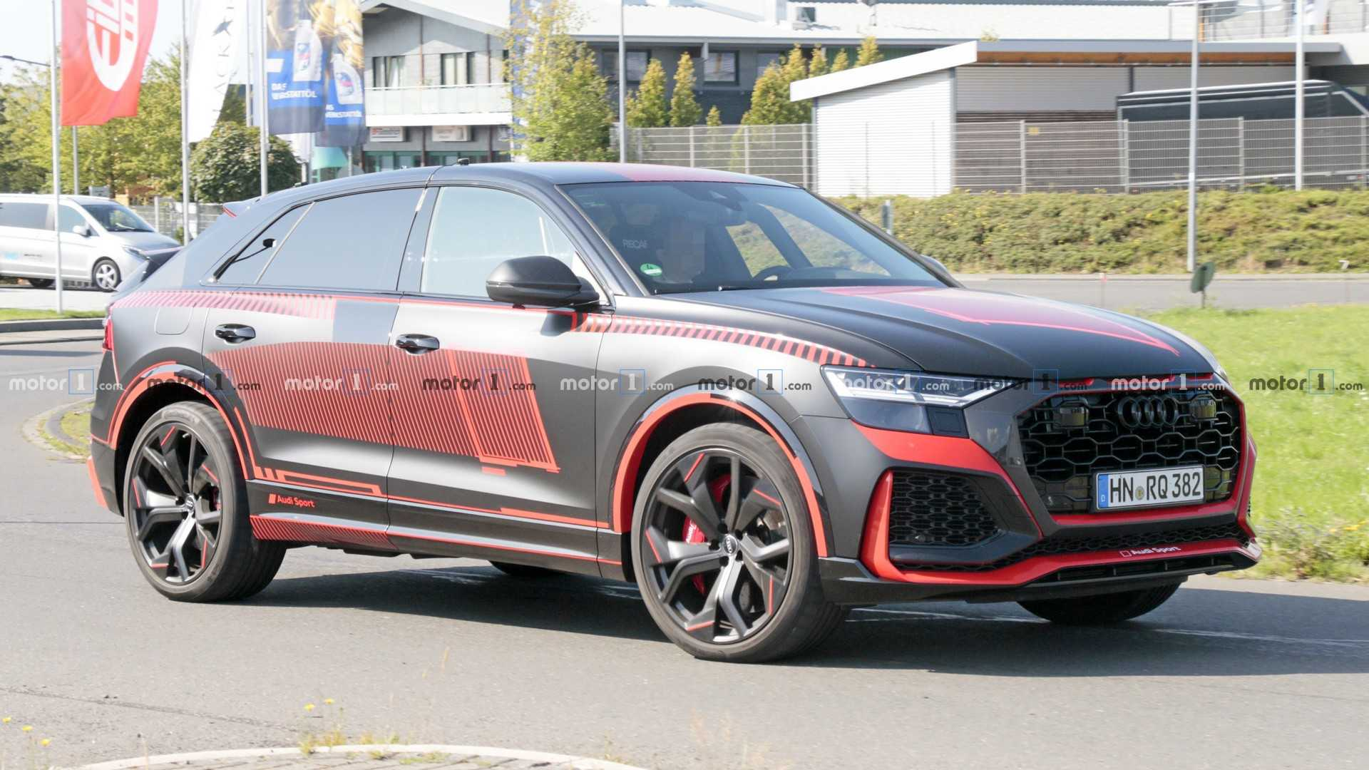 Audi RS Q8 RS5 Panther Edition To Debut At Los Angeles Auto Show 1920x1080