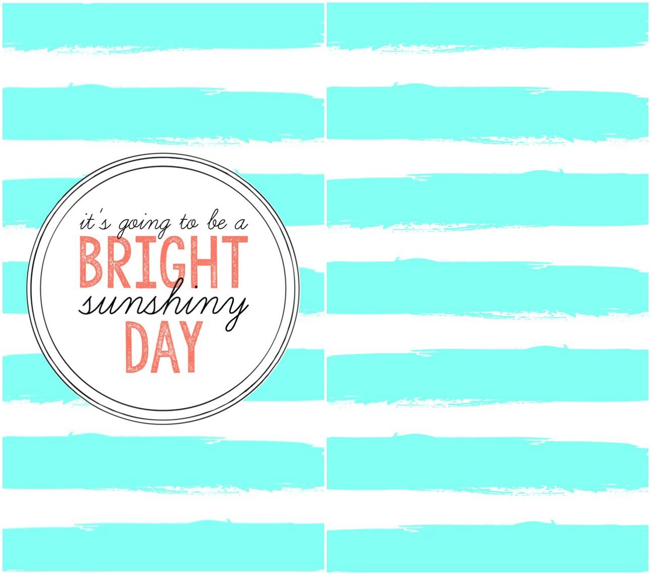 Bright Sunshiny Day Phone Wallpaper 1289x1140
