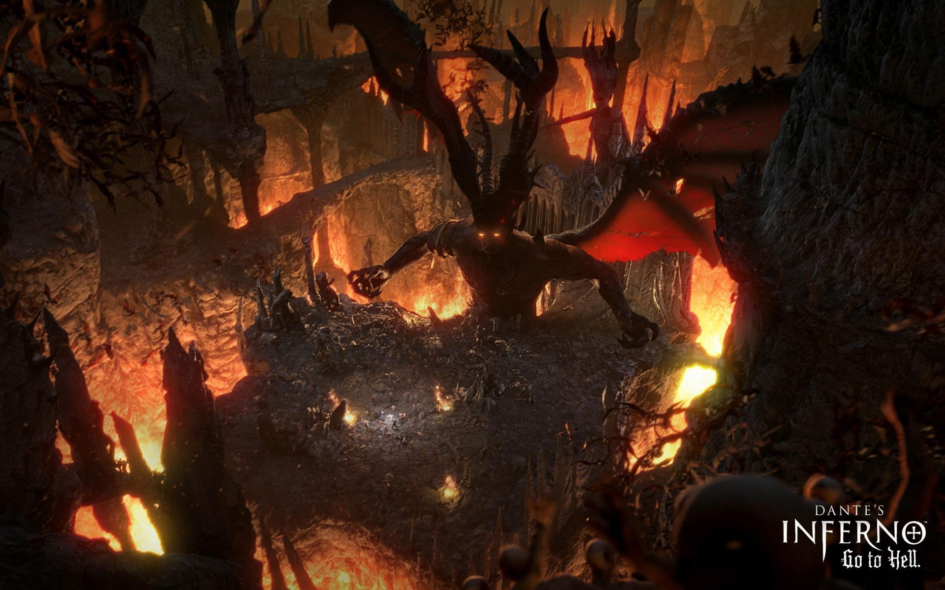 dantes inferno hell awaits wallpaper Xbox Video Game Wallpaper Game 1920x1200