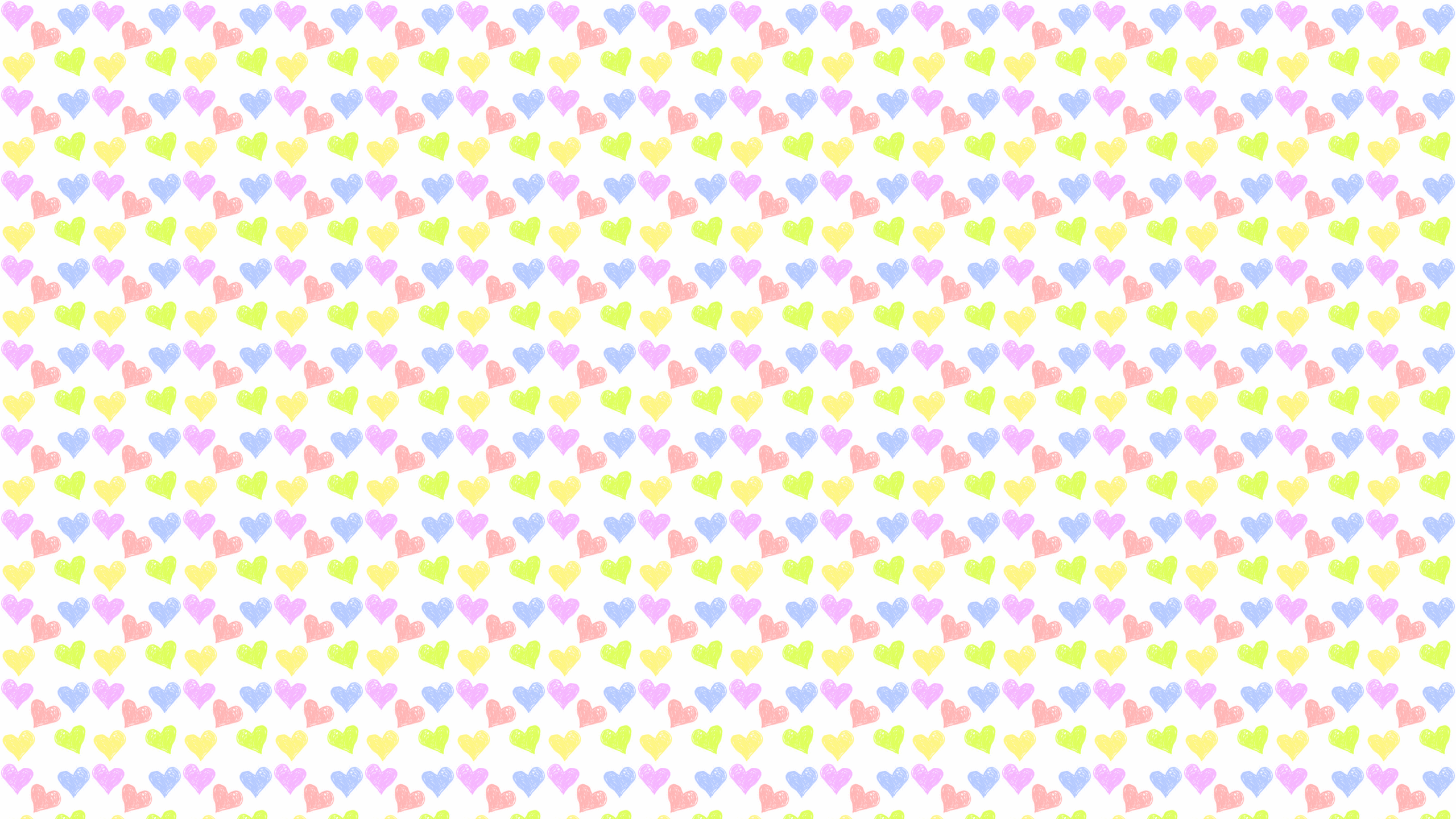 this Pastel Hearts Desktop Wallpaper is easy Just save the wallpaper 2560x1440