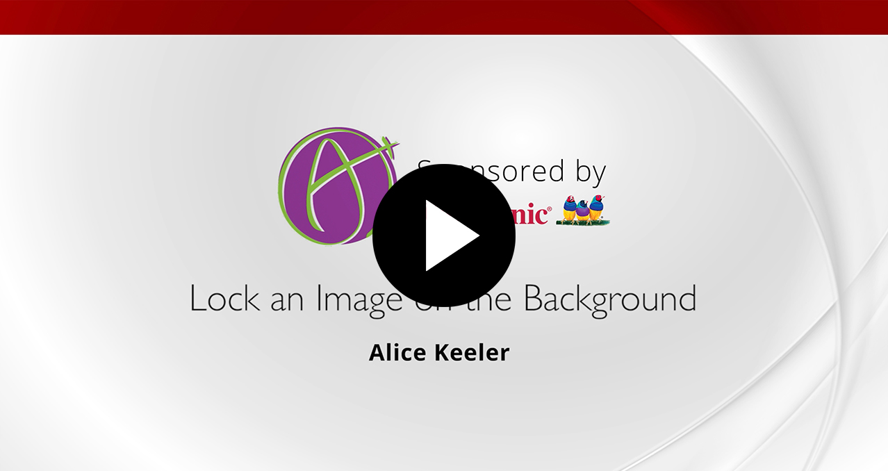 Viewsonic News   Lock an Image on the Background   Alice Keeler 1278x678