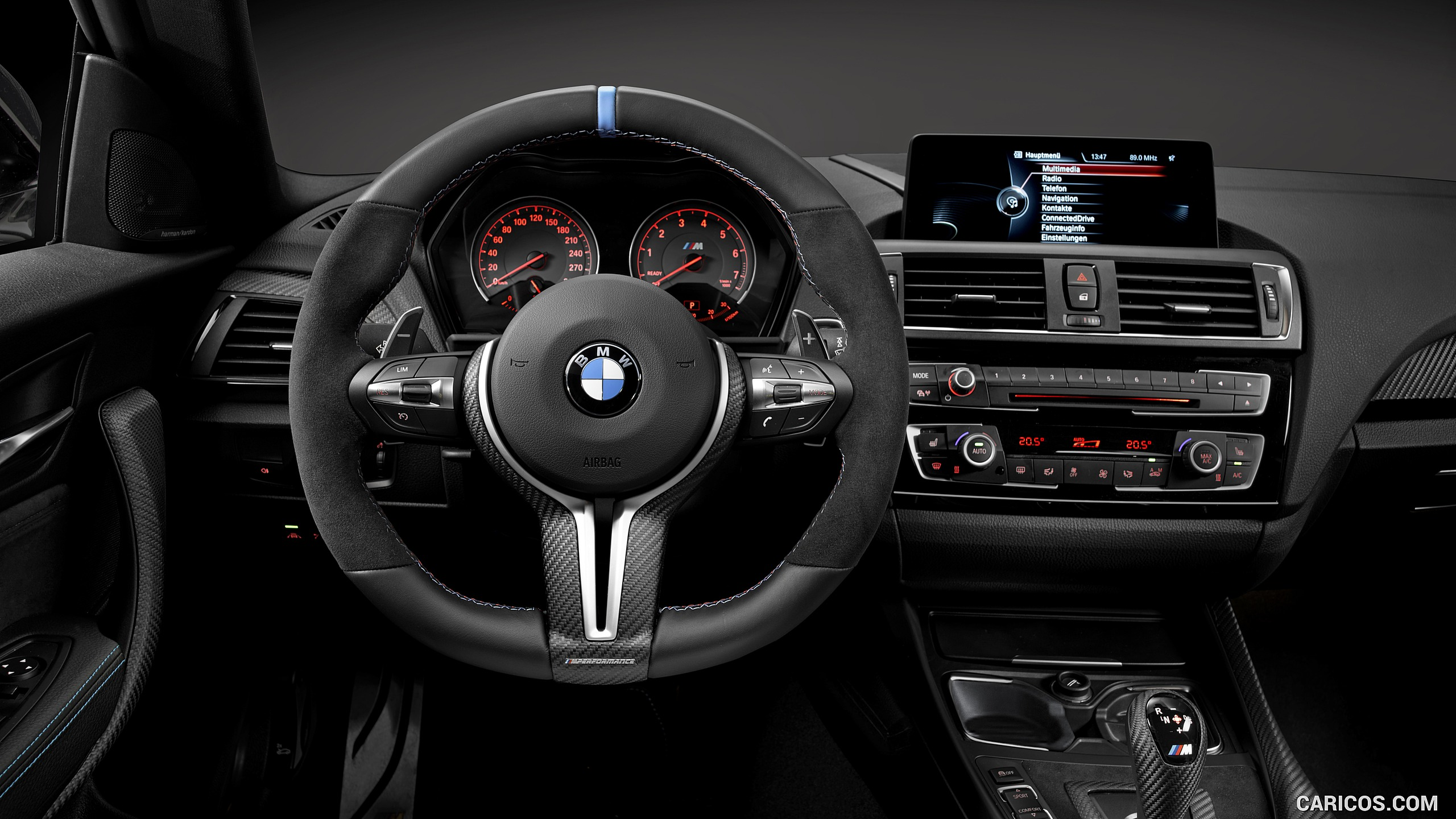 2016 BMW M2 Coup with BMW M Performance Parts   Interior HD 2560x1440
