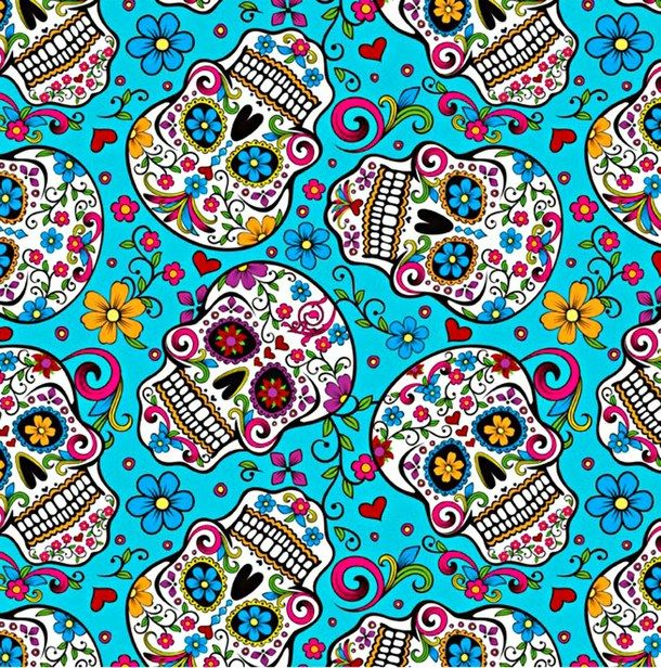 46 sugar skull phone wallpaper on wallpapersafari - Sugar skull background ...