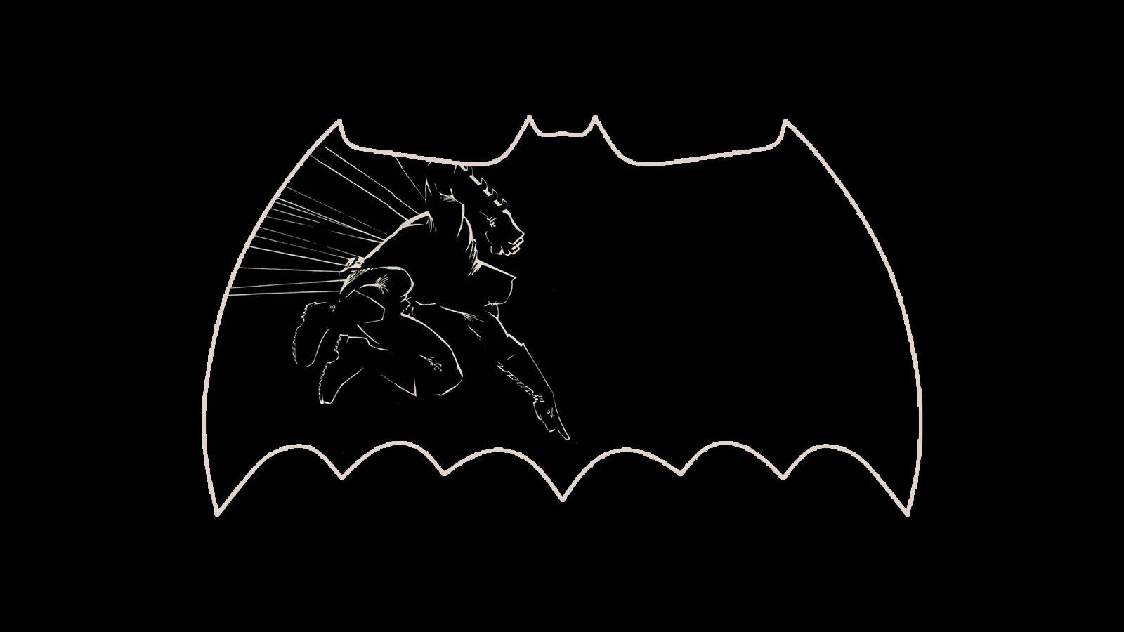 Batman Dark Knight Frank Miller Jim Lee Brian Azzarello Comics Cartoon 1600x900