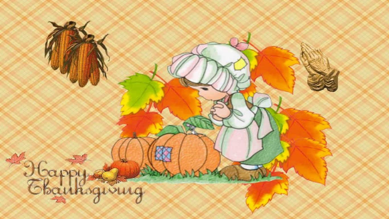 Thanksgiving Desktop Wallpaper Downloads wallpaper 1366x768 1366x768